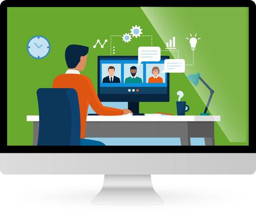 Online-Veranstaltung mit Userexperience