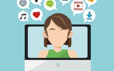 Livestream auf Social Media